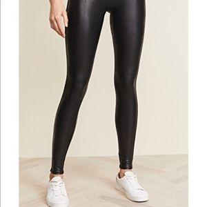 Pants - Spanx Faux Leather Tummy Control Leggings